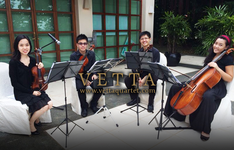 String Quartet Performance - Wedding Singapore - Sentosa Resort & Spa