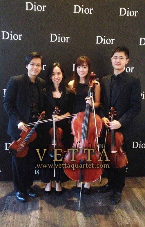 Music National Museum - Dior private event - Quartet performance