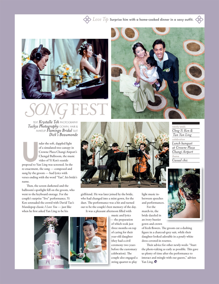 mediacorp style weddings singapore