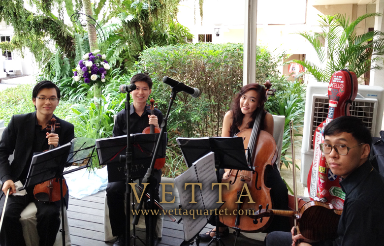 Singapore Quartet - Wedding Event - Music Goodwood Park