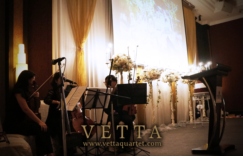 Orchard Hotel Wedding - String Quartet Singapore