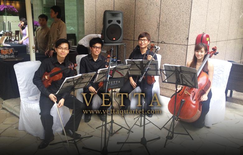 Wedding Music - Quartet Singapore - Sheraton Tower