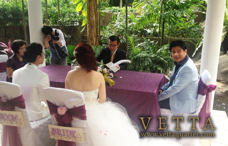 Wedding at Sheraton Tower - Quartet Music Performance