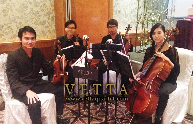 Music at Wedding - Quartet performance at Sheraton Tower