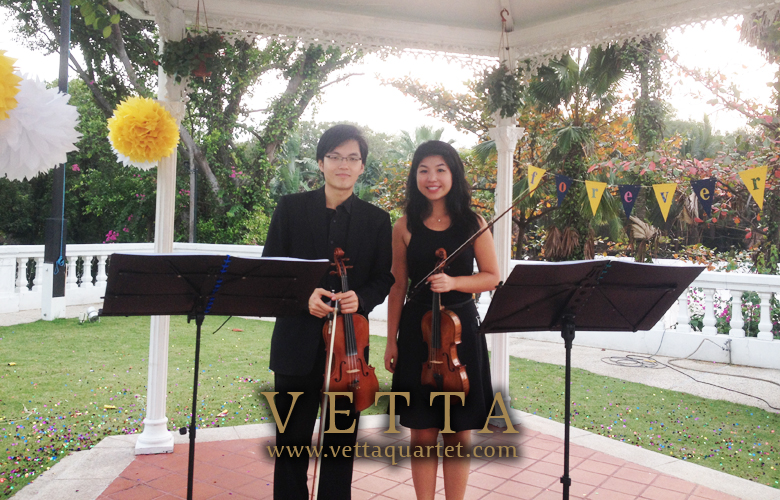 Wedding at Alkaff Mansion - String Quartet Performance