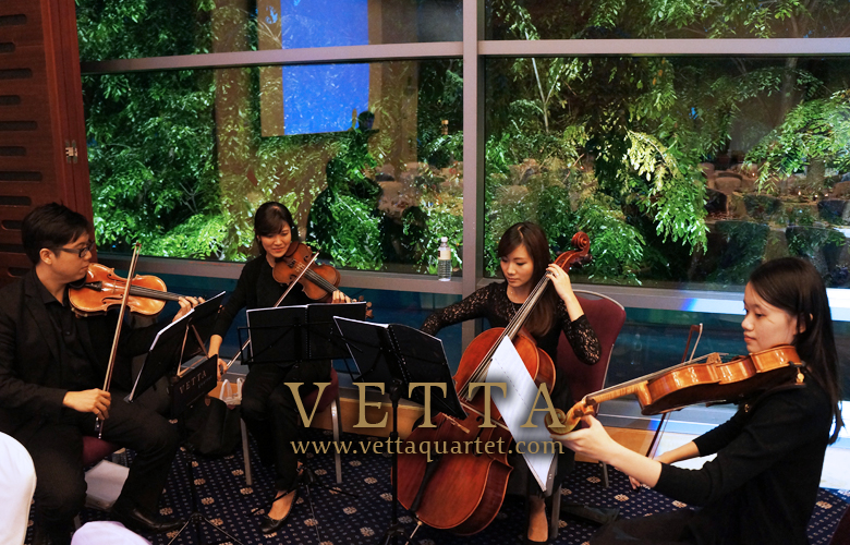 Singapore Quartet - Wedding performance Music - Royal Plaza Scotts