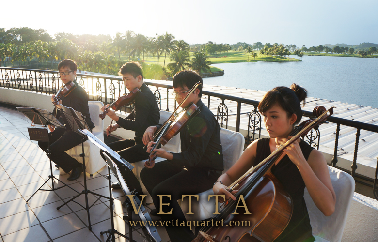 Live Music for Wedding Solemnisation at Raffles Country Club
