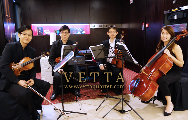 Live Performance for Nespresso at Ion Orchard