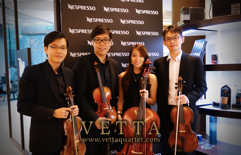 String Quartet at Ion Orchard