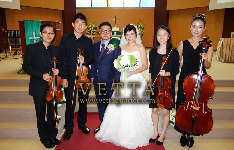 String Quartet at Ang Mo Kio Methodist Church