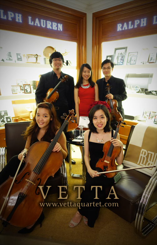 String Quartet for Launch Event