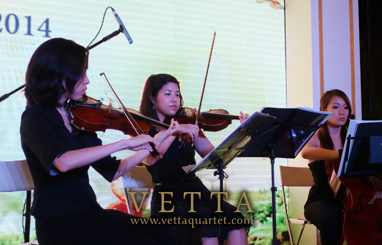 String Quartet at Gardens by the Bay