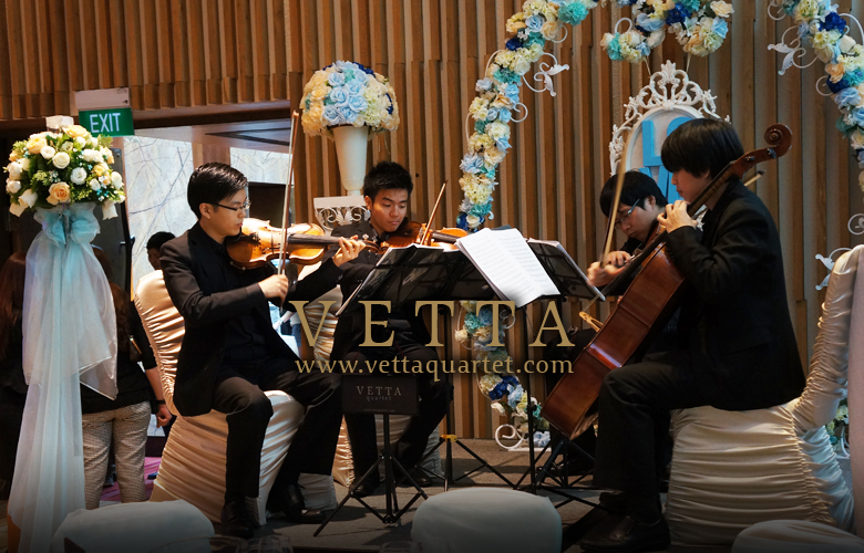 String Quartet for Movenpick Wedding Show