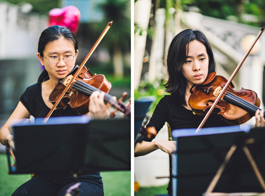 Wedding String Music Hotel Fort Canning Singapore