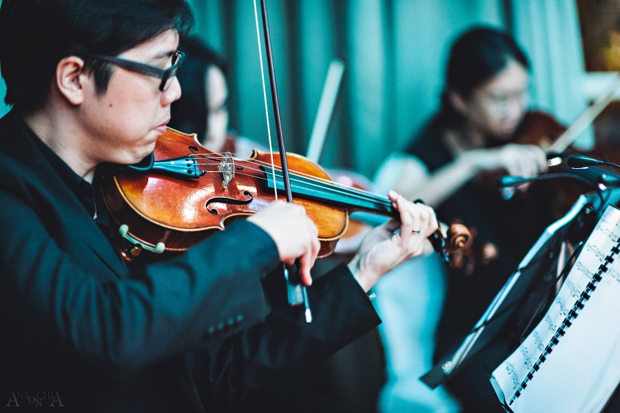 Violin Wedding Music at Hotel Fort Canning