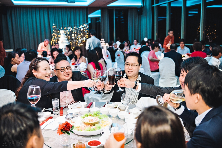 Wedding Dinner Banquet at Hotel Fort Canning