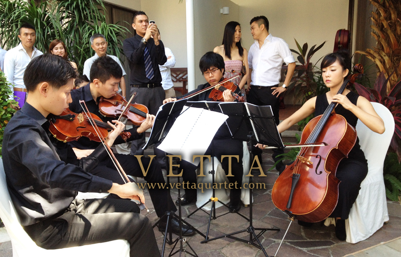 Live Performance for Wedding at Goodwood Park
