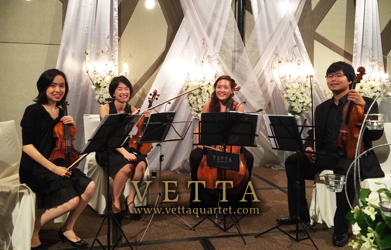 String Quartet at Crowne Plaza Changi Airport