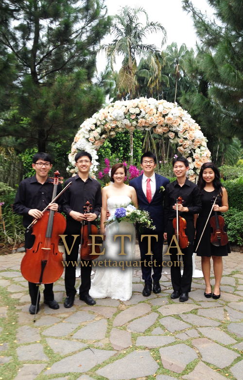 String Quartet for Wedding at the Botanic Gardens