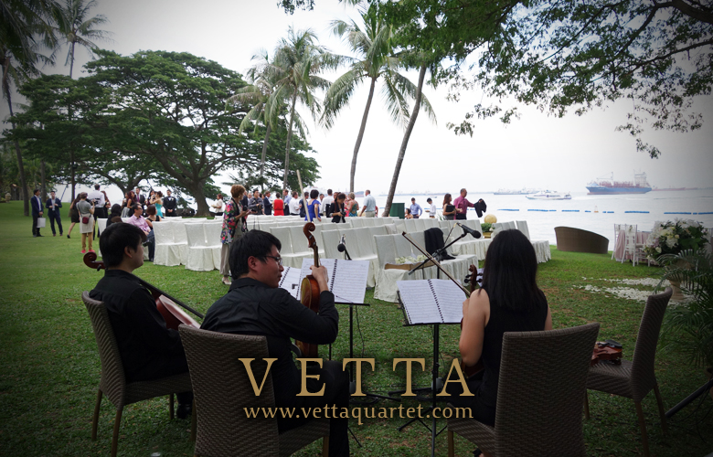 Live Performance at  Shangrila Rasa Sentosa