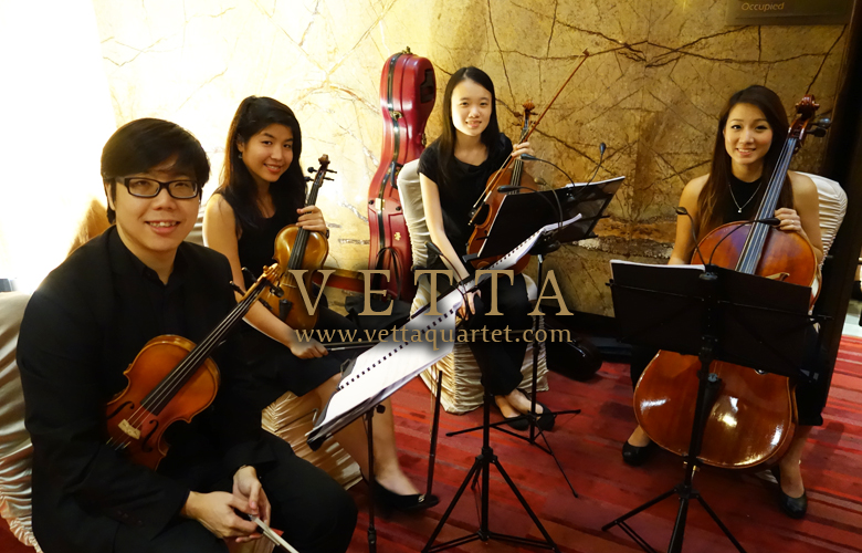 String Quartet at Movenpick Heritage Hotel Sentosa