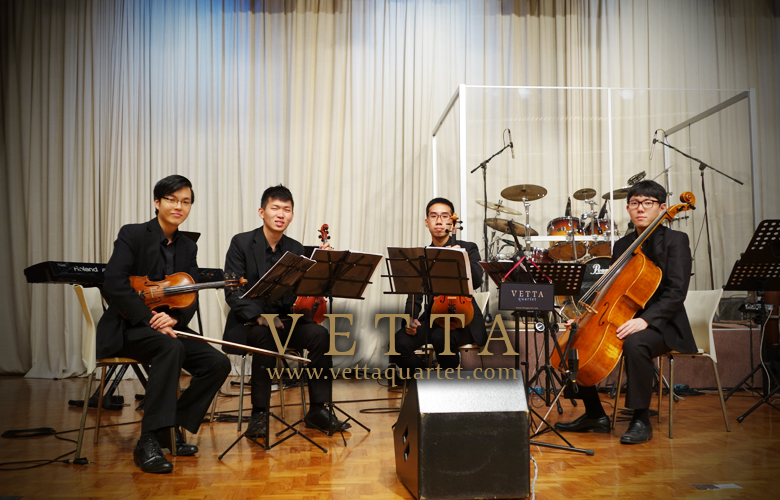 String Quartet at Church of Singapore