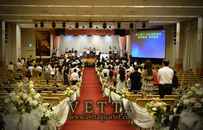 Live Performance for Wedding Solemnisation at Church of Singapore