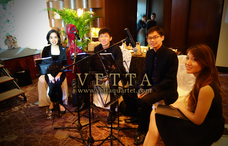 String Quartet for Wedding at Marina Mandarin
