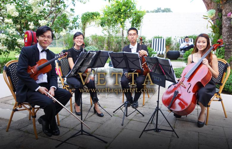 String Quartet for Wedding Solemnisation at White Rabbit