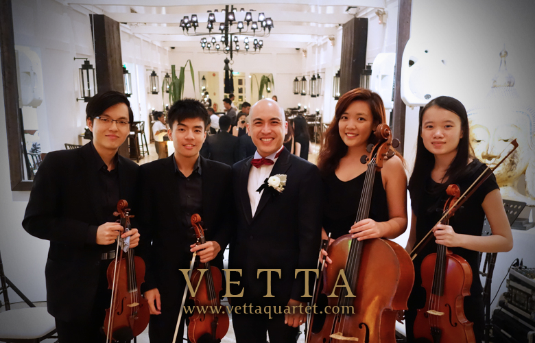 String Quartet for Wedding at Tamarind Hill