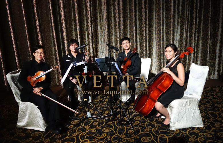 String Quartet at Grand Copthorne Waterfront
