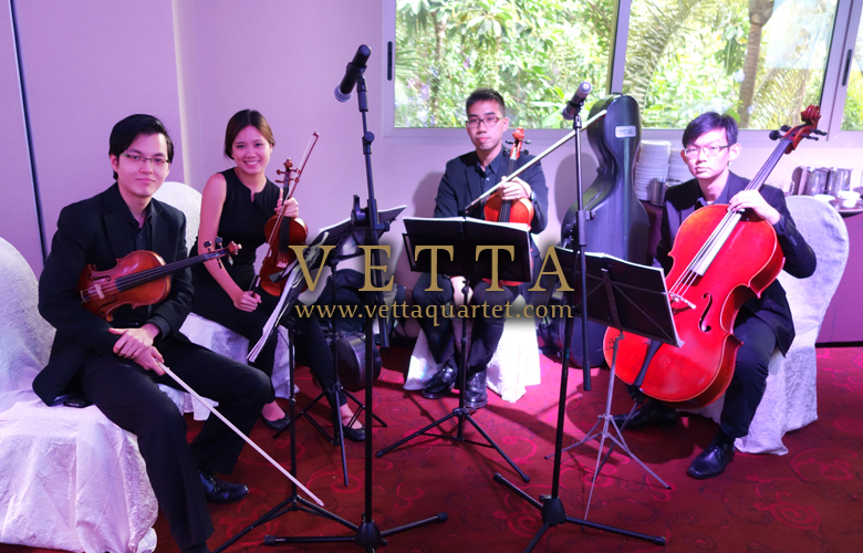 String Quartet for Wedding at Hotel Fort Canning