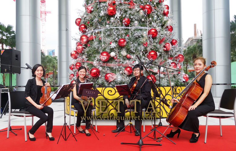 Live Performance for Christmas Celebration