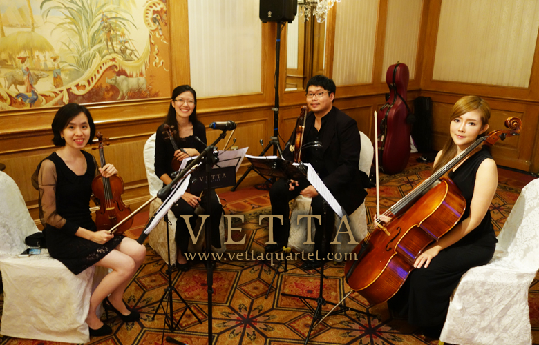 String Quartet at Raffles Hotel