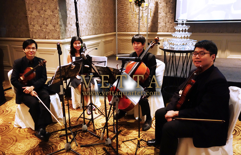 String Quartet at Garden Suite in Mandarin Oriental Singapore