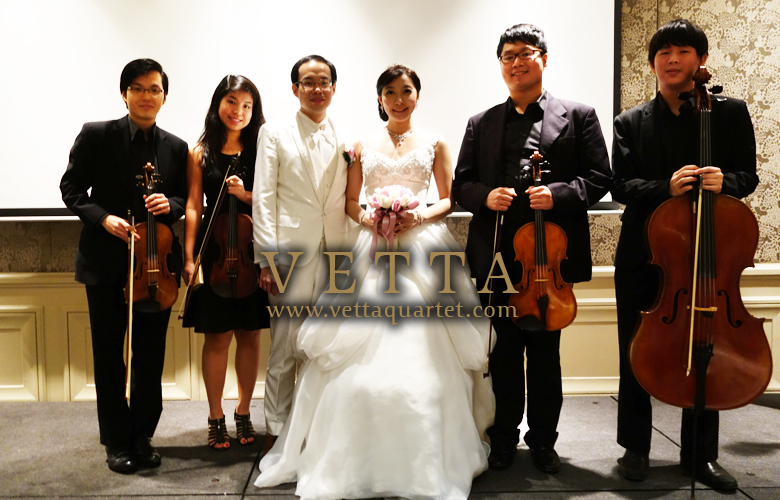 Live Music for wedding at Mandarin Oriental Singapore