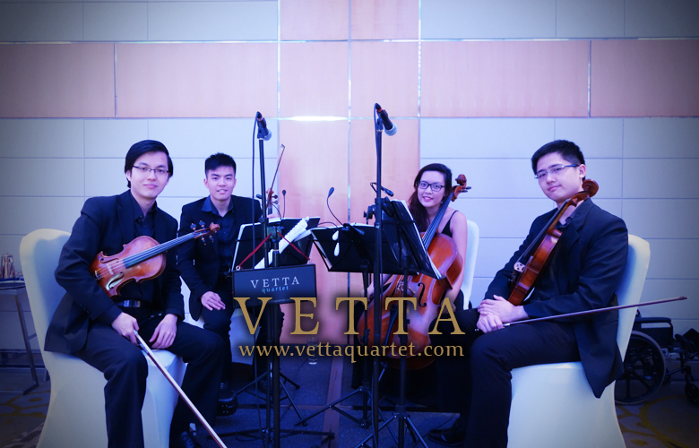 String Quartet for Wedding at Pan Pacific Hotel