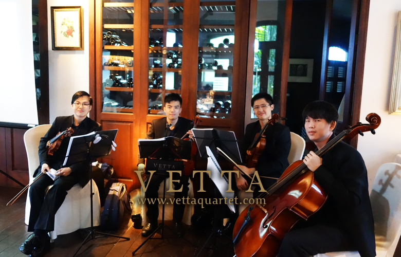 String Quartet at Alkaff Mansion