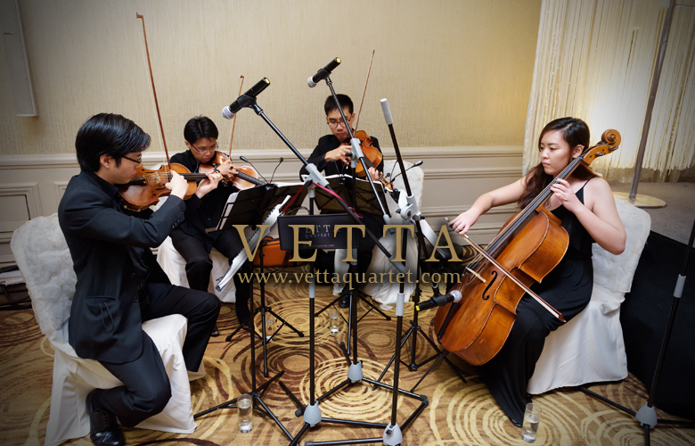 String Quartet at Mandarin Oriental Hotel