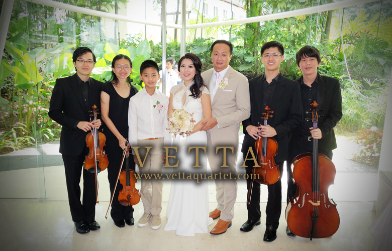 String Quartet for Wedding at Glass Pavilion