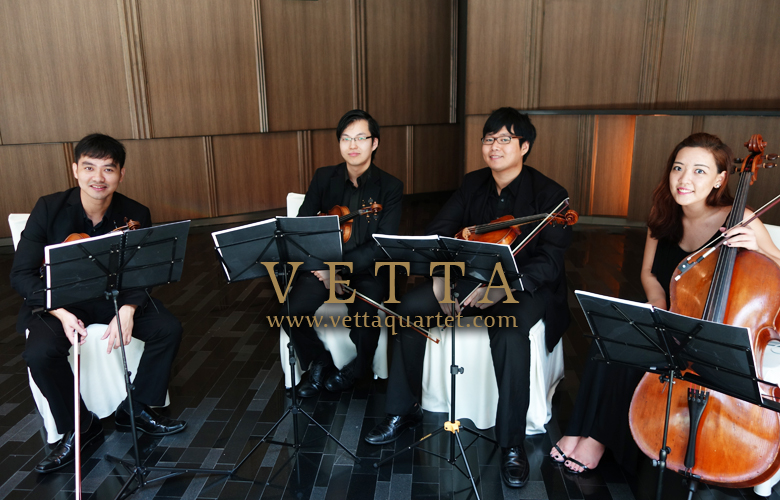 String Quartet for Wedding at Crowne Plaza
