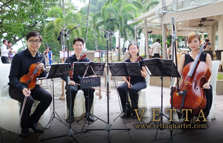 String Quartet for Wedding at Atmosphere By The Sea