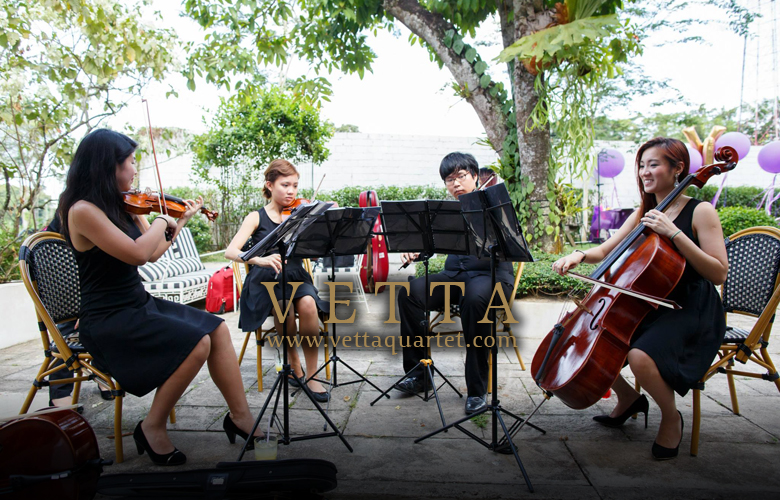 String Quartet for Wedding Solemnisation at The White Rabbit