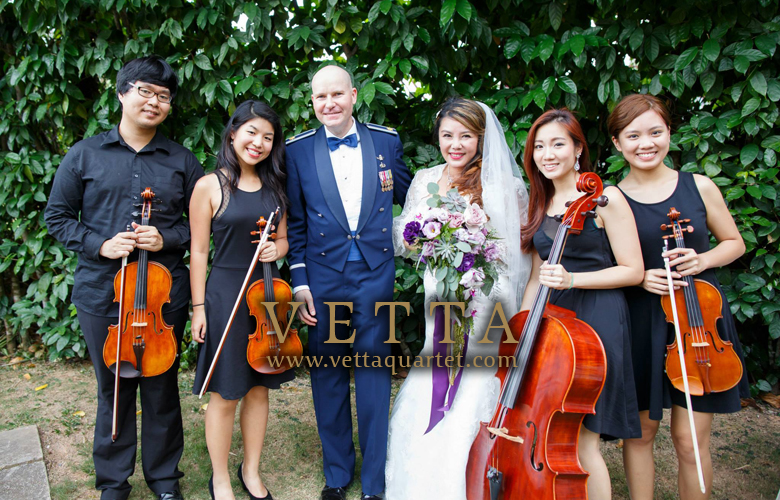 String Quartet for Wedding at The White Rabbit