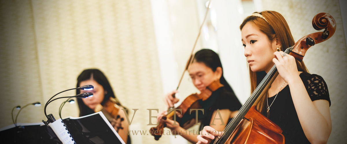 String Quartet for Wedding at Intercontinental Hotel