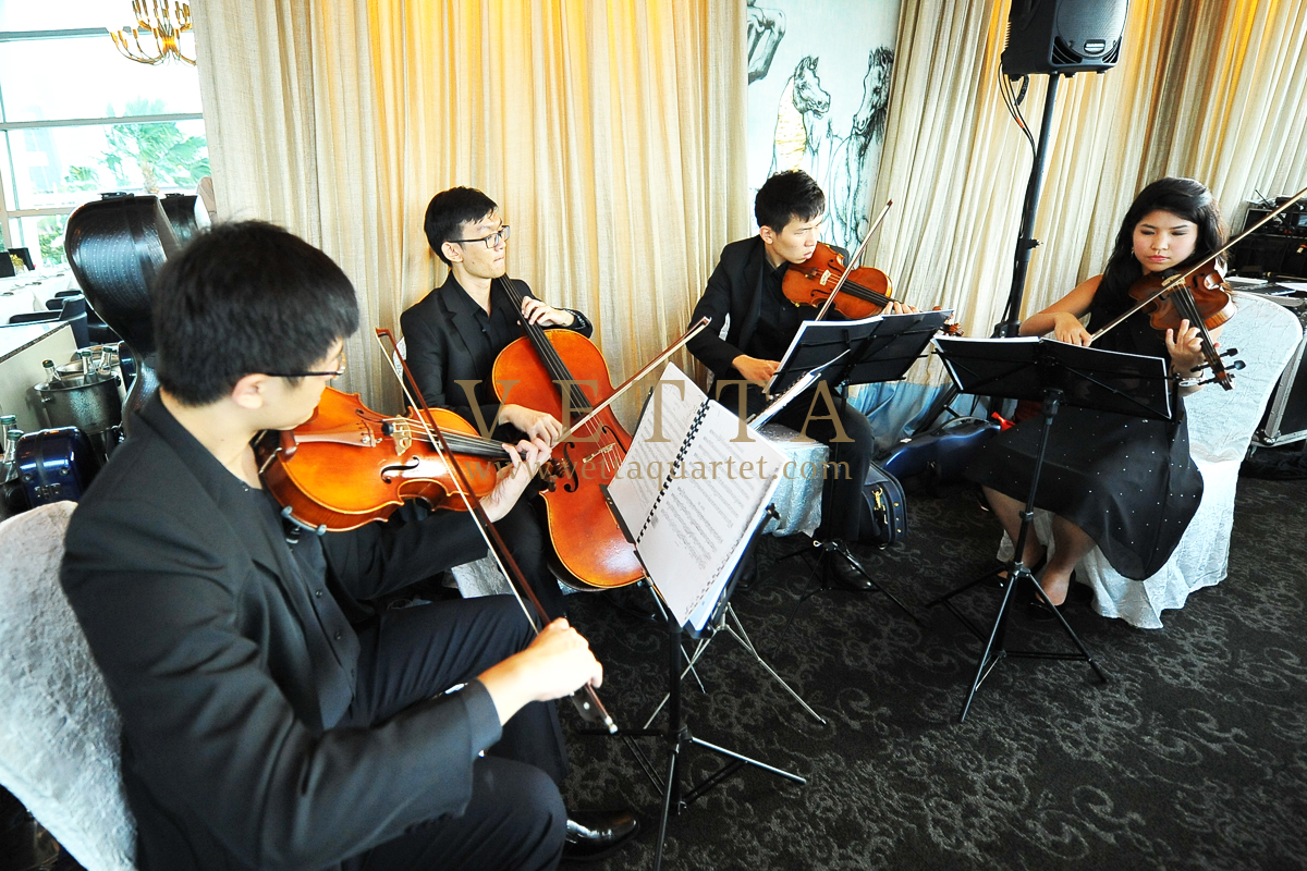 String Quartet for Wedding at Forlino