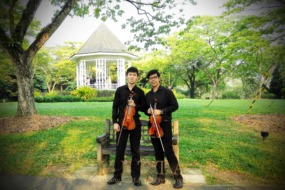 Violin Duo for Wedding at The Halia