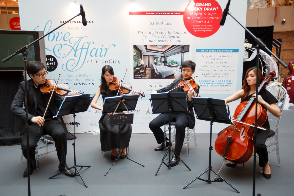 Live Band for Wedding Show at Vivocity