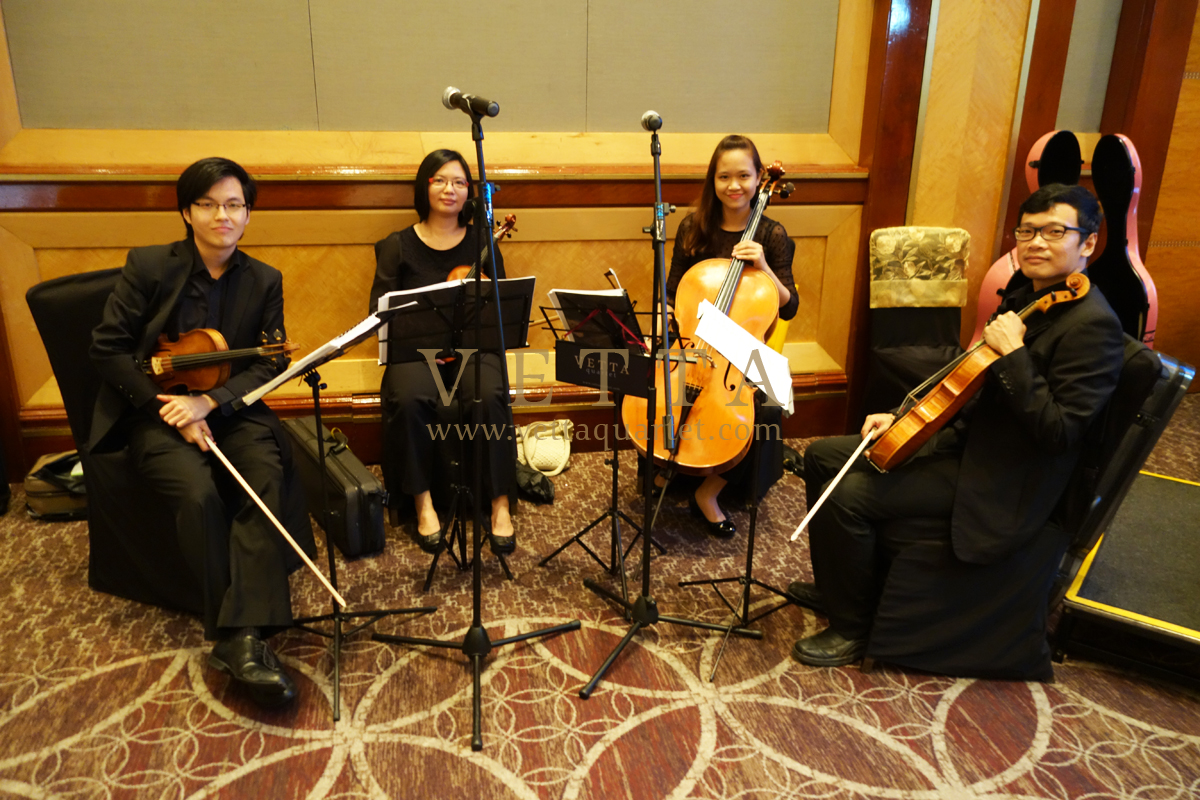 String Quartet for Event at Sheraton Towers Hotel