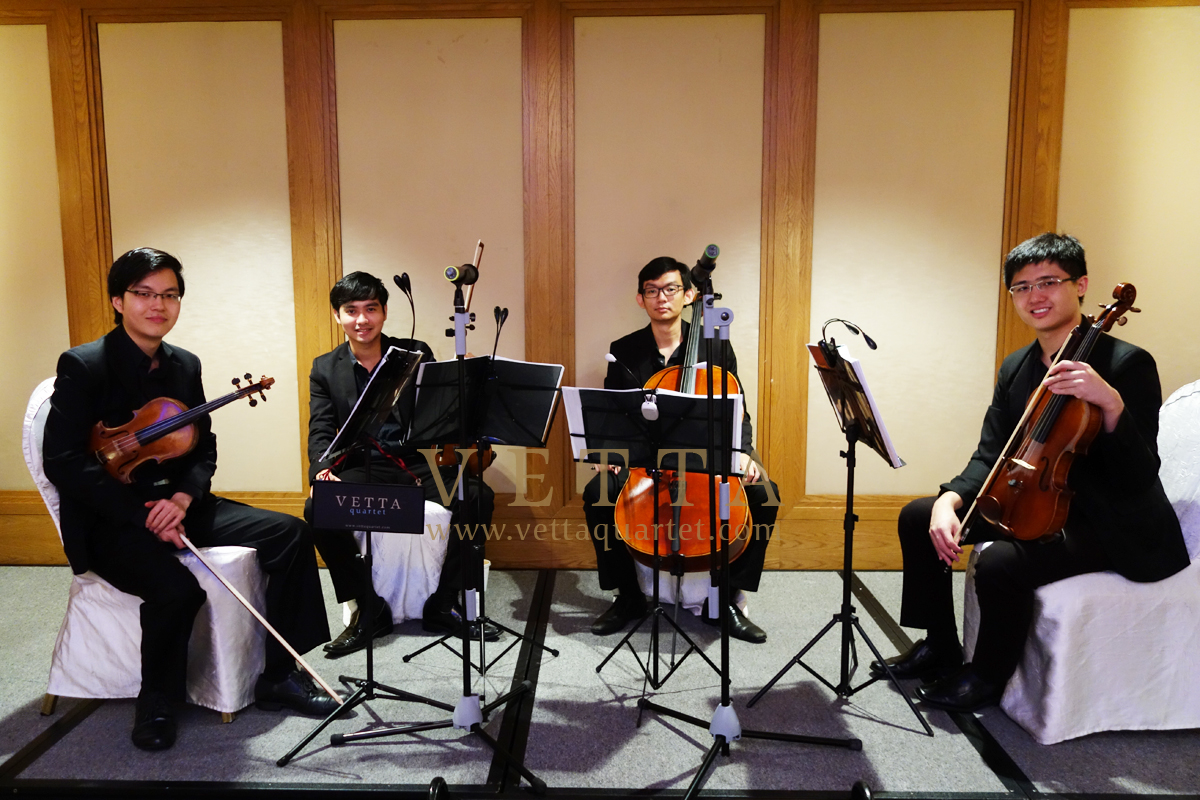 String Quartet for Wedding at Roxy Mercure Hotel